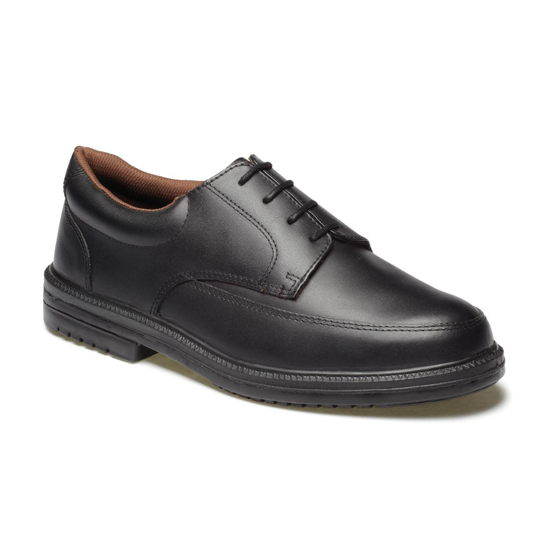 Dickies Mens Smart Executive Black Leather Apron Front Safety Shoes