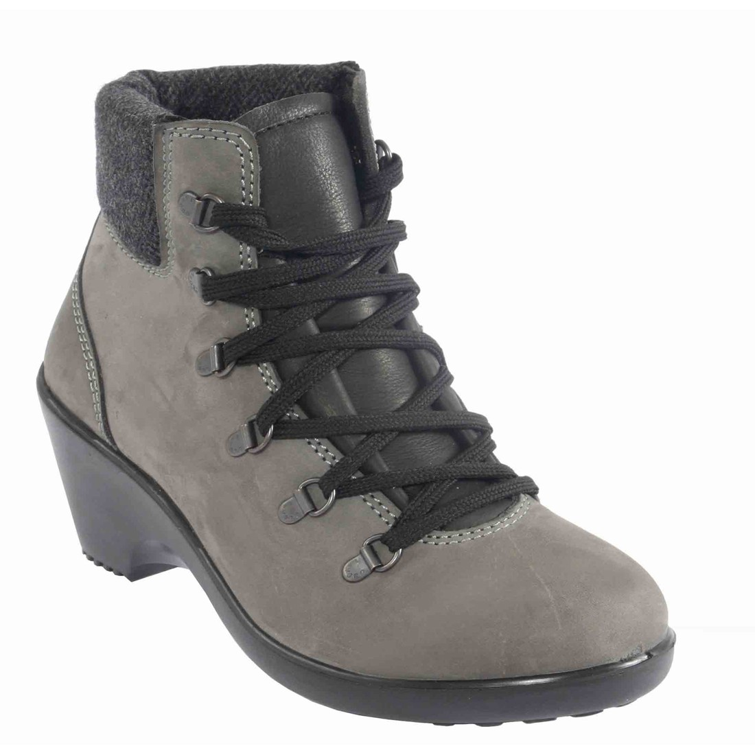 Geena Ladies Safety Boots From Lavoro With Nubuck Leather