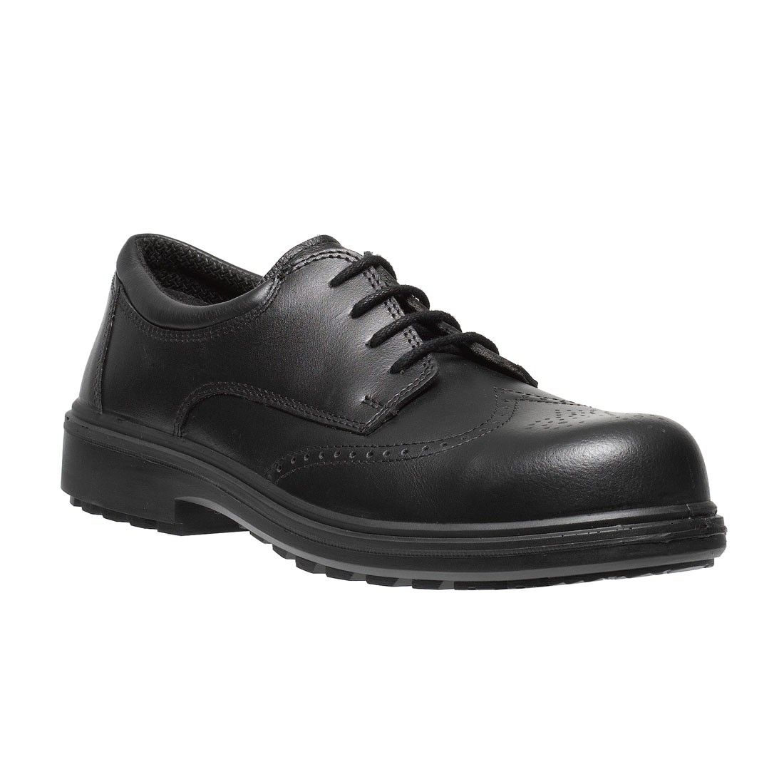 parade osaka executive brogue style black metal free mens