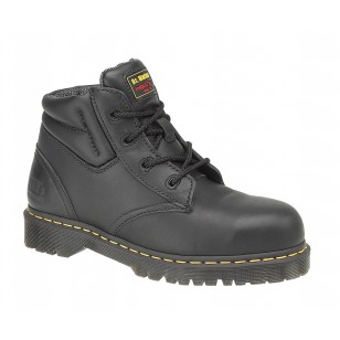 f803faf14fa Dr Martens Icon Black Leather Traditional Chukka Safety Work Boots