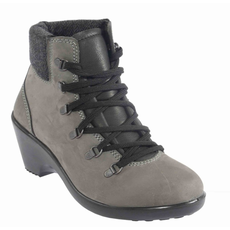 Geena Ladies Safety Boots from Lavoro with Nubuck Leather Steel ... 0c6f1f986deb