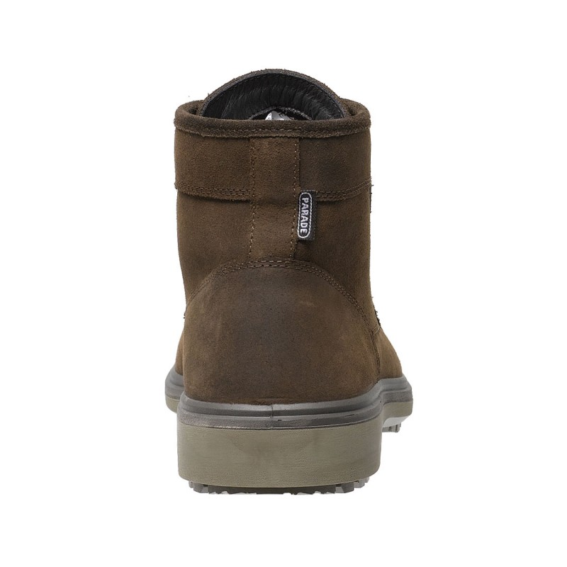 9346bb107ac4f3 Parade Lightweight Oslo Executive Style Brown Leather Mens Safety Boots