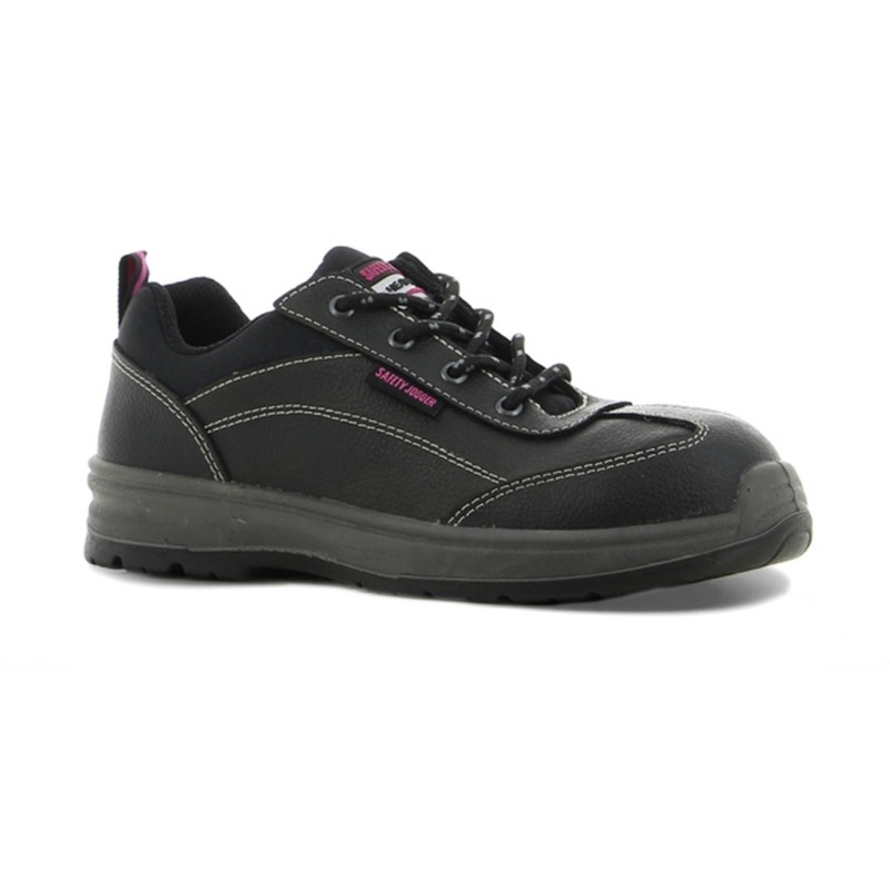 Best Girl S3 SRC Black Leather Safety Jogger Womens Safety Work Shoes 81cacc626