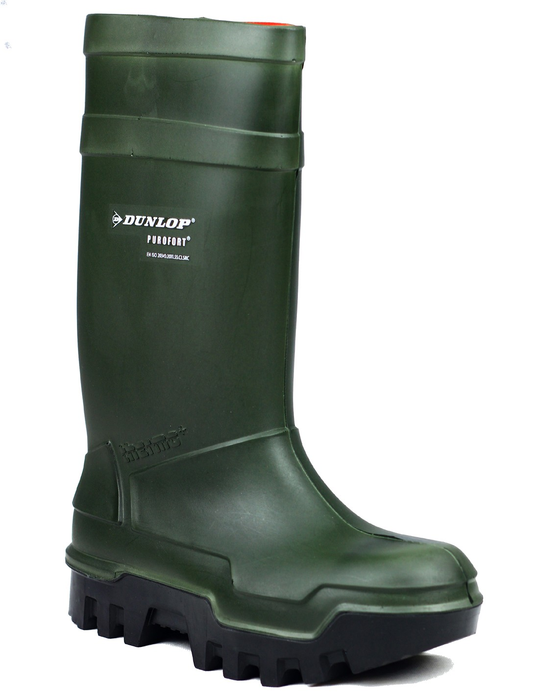 56af965bfe5 Dunlop Purofort Thermo Plus C662933 Green Full Safety Wellington ...