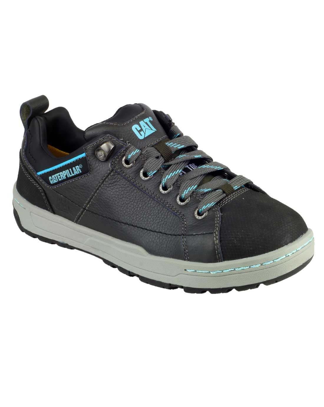 Caterpillar Brode Low Cut Steel Toe Lace Up Ladies Trainer Work Shoes