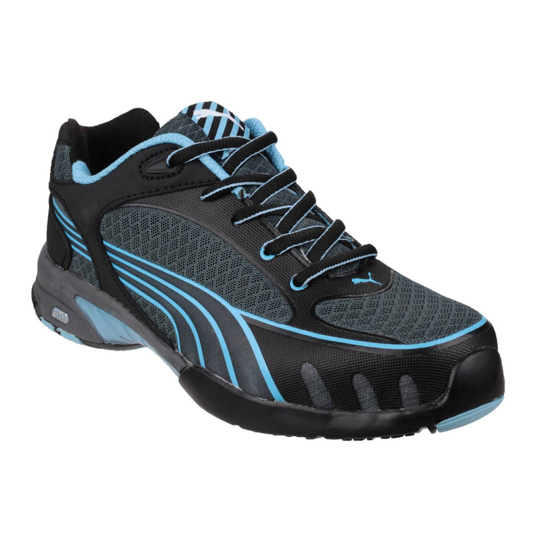 super populaire 248c0 70bb0 Puma Safety Fuse Motion Low Blue Lightweight Ladies Safety ...