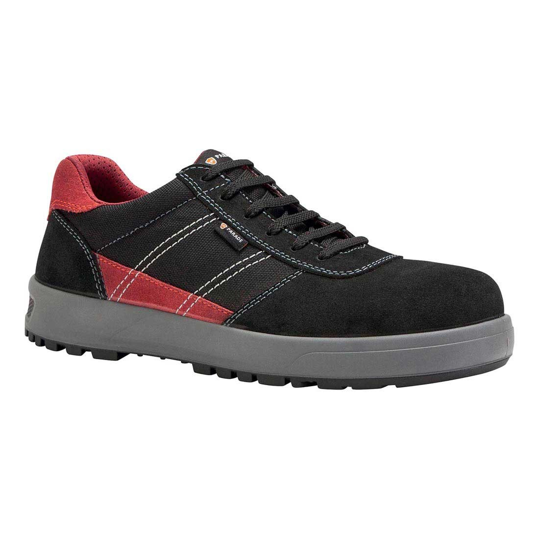 Parade Mens Gamma Black Red Lightweight And Metal Free