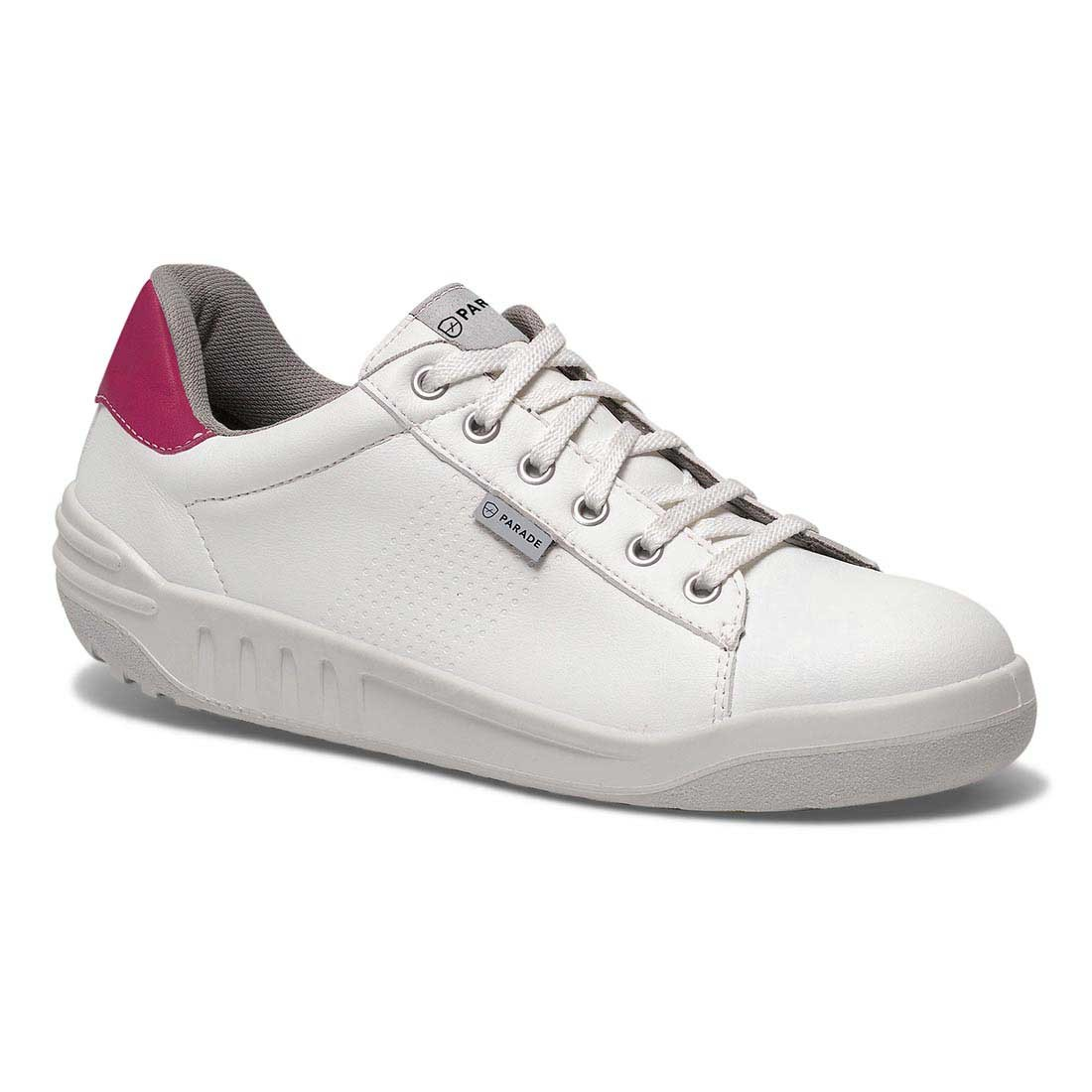 Parade Ladies White Jamma Safety Trainers With Vps Premium Comfort System