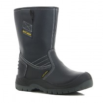 ba5d45c4c24 Safety Rigger Boots with fur lining and leather upper protective riggers