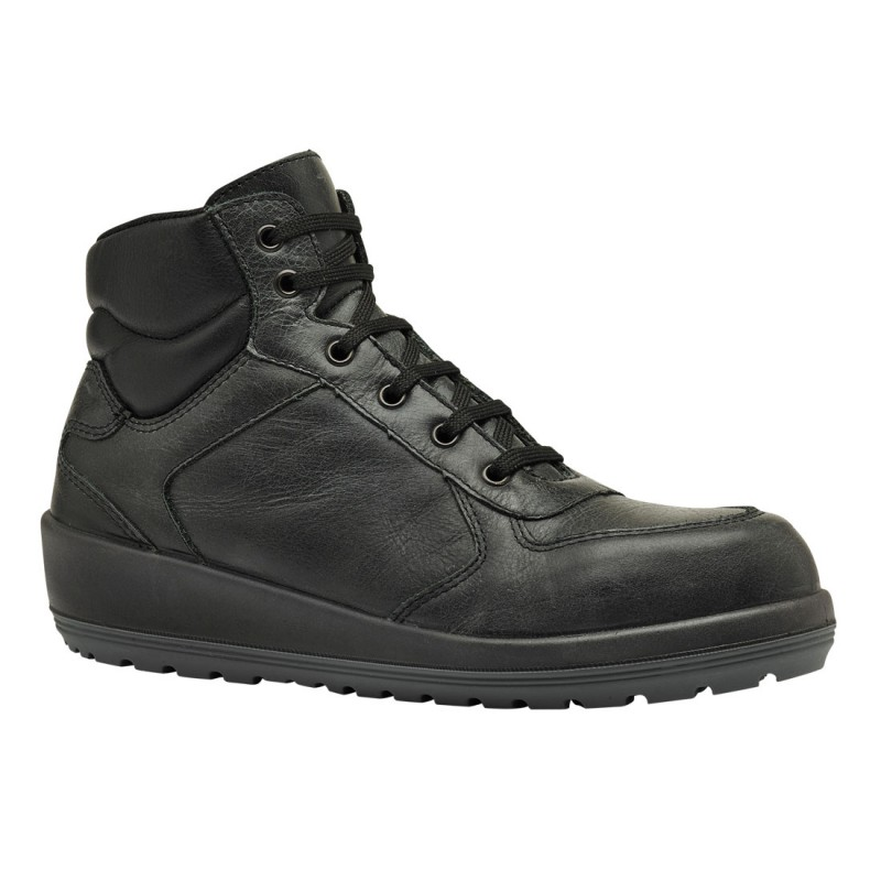 Parade Footwear Brazza S3 Lightweight Black Leather Ladies
